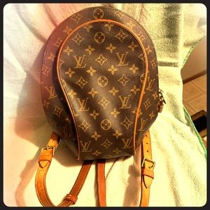 Louis Vuitton back pack purse